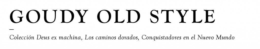 goundy-old-style